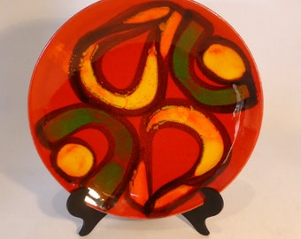 Delphis Poole Pottery bowl (shape 3) – original from the 1970s