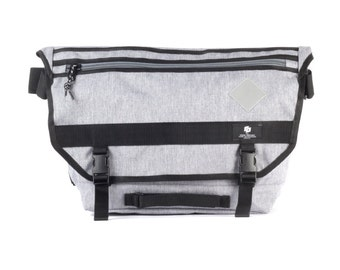 Messenger bag, Waterproof Cycling Bag, Lightweight, Messenger Courier Heather Grey / To order