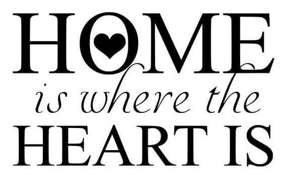 home is where the heart is svg file quote cut file. Black Bedroom Furniture Sets. Home Design Ideas