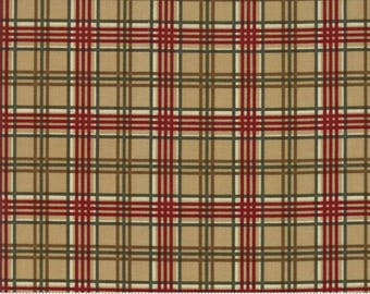 Free US Shipping/Forever Green Christmas Plaid - Tan