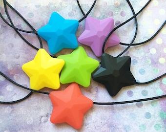 Star Chewie/Stim Necklaces