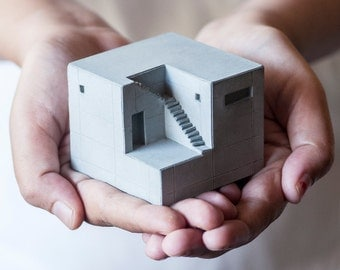 Miniature Concrete Home 9