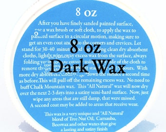 Antiquing Wax This is an All Natural Wax. 8 oz's Of No Buffing Wax.