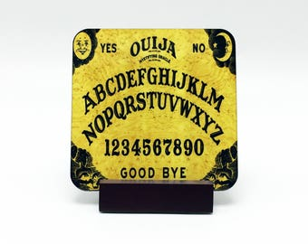 Ouija Board Coaster Ouija Drink Coaster Custom Coaster Personalized Coaster Ouija Planchette Ouija Board Drink Coaster