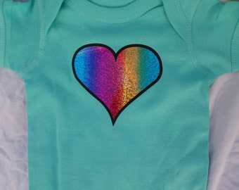 Love Wins - My Mommies Love Me Personalized Onesie