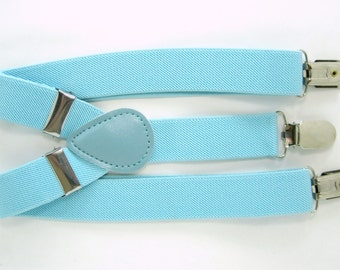 Light Blue Suspender  for Baby, Toddler and Boys