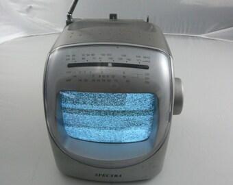 "Spectra Model 57-BWR 5"" TV Am/Fm Radio"