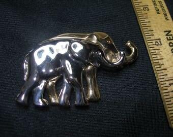 LC Elephant Brooch(665)