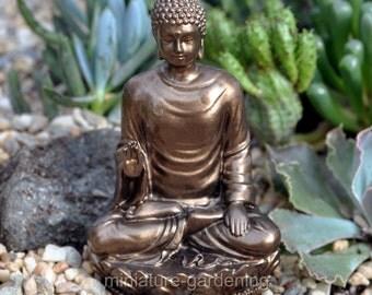 Sakyamuni Buddha for Miniature Garden, Fairy Garden
