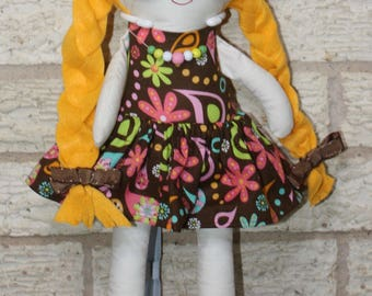Custom Doll - Large - Soft Doll - Custom Cloth Doll - Custom Stuffed Doll - Rag Doll