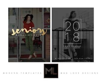 Magazine SR18 Cover & Back Template
