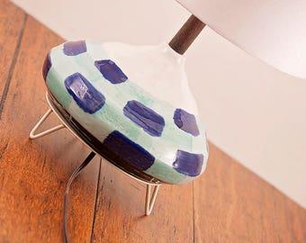 Ceramic Lamp and Shade 242