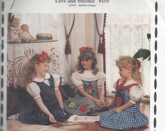 School House Jumper pattern by Love & Stitches, sizes 4 - 14