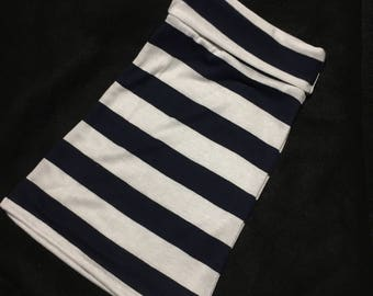 Navy and white baby maxi skirt. Size newborn-5T. Special orders available if you'd like a different print. Stripes. Maxi skirt. Toddler