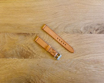 Leather Watch Strap For Women / Handmade Watch Strap For Women  16mm, 18mm, 20mm