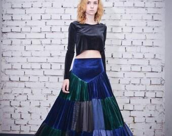 Patchwork gipsy skirt