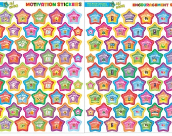 Islamic Encouragement stickers and motivation stickers pack