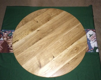 Reclaimed Wood Lazy Susan - Large