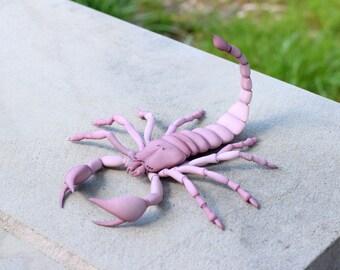 3D printed bjd pet Scorpion