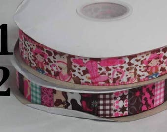 CowGirl Grosgrain Ribbon