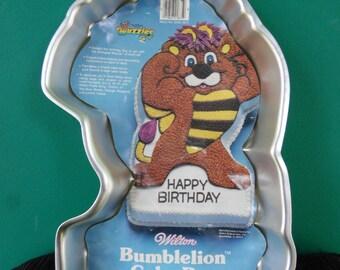 Bumblelion Wilton Cake pan