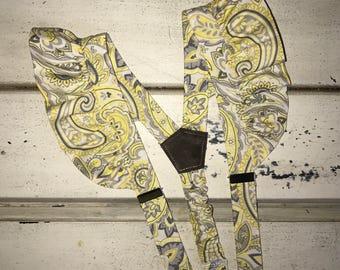 Girls Ruffled Suspenders