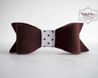 Brown Bow tie- can only be purchased with a picture frame from Kissel Ave