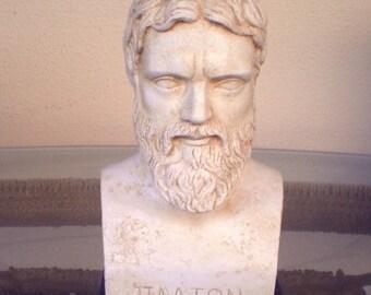 For Sale Plato Bust - Greek Philosopher student of Socrates - Platonas