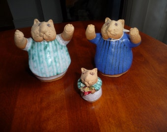 A Set of 3  Cats