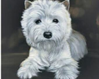 West Highland Terrier Garden Flags