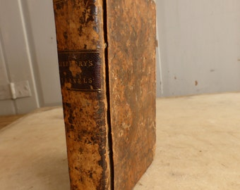 Antique small leather bound book Travels in Africa by Francis Blagdon dated 1802 Vol II