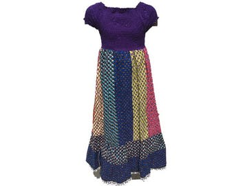 Girl's African Ankara dress