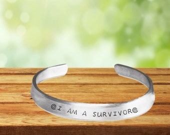 I Am A Survivor Bracelet