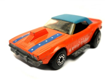 1970s Vintage Matchbox Superfast 1g Dodge Challenger racing car Toy Collectible Made in England