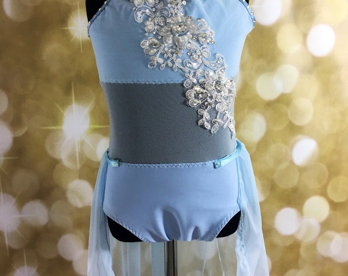 Custom dance leotard, custom dance leotard Lyrical dance costume or contemporary dance costume , SC ready to ship