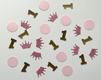Princess First Birthday Confetti / First Birthday Party / First Birthday Party Decor /First Birthday Confetti - Created by Confetti Betti