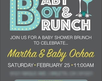 Baby Shower Brunch Invitation | Digital File