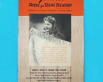 Gimbels Tricks for Teens Treasury 1942 Parent's Magazine Fourth Edition Gimbels Philadelphia
