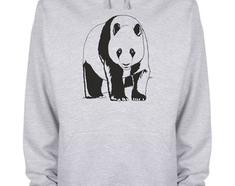 Panda Hoodie bear animation safari Hooded Sweatshirt - Panda018-HyGy