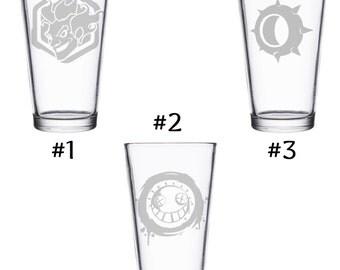 Junkrat Overwatch Pint Glass