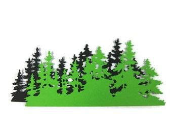 Paper Tree Line Set of 6