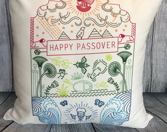 Passover Seder Pillow