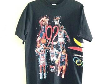USA Dream Team Barcelona Tshirt