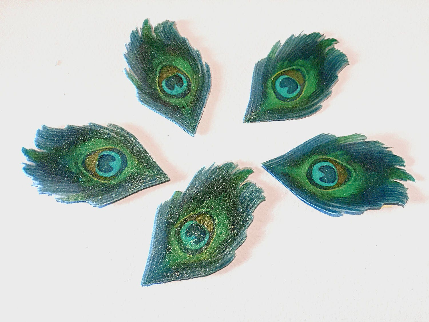 how to make peacock cake decorations