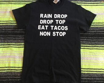 Rain Drop Drop Top T Shirt