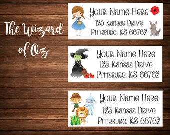 Wizard Address Labels, Mailing Labels