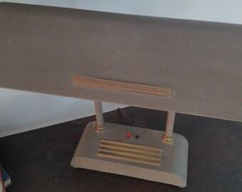 Brown Glass Table Lanp