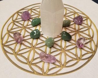 Cloth crystal grids