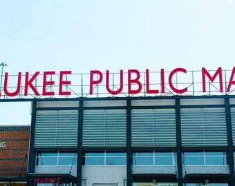 Milwaukee Public Market Panoramic Print