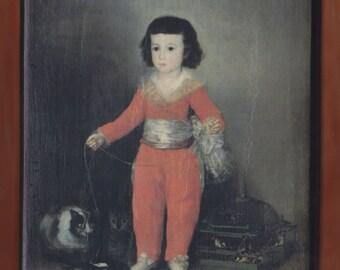 Manuel Osorio Manrique de Zuñiga (1784–1792),Goya (Francisco de Goya y Lucientes).FREE SHIPPING